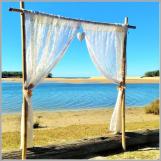 Wedding-lace arbour - Currimundi Lake, Caloundra