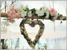 Shellheart & flowers