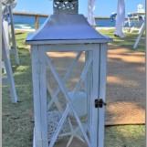 Beach wedding lantern.