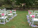 Ceremony setting -Barefoot Bride Weddings